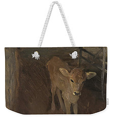 A Jersey Calf, 1893 Weekender Tote Bag by John Singer Sargent