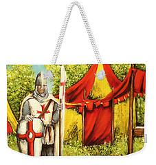 A Knights' Rest Weekender Tote Bag