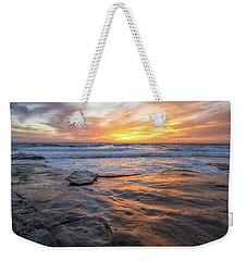 A La Jolla Sunset #2 Weekender Tote Bag