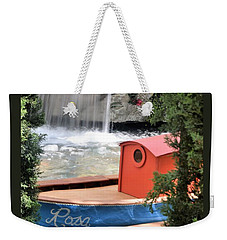 A Lady Named Rosa Weekender Tote Bag