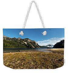 A Lake In The Mountains Weekender Tote Bag