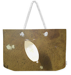A Leaf On The Water Weekender Tote Bag by Esther Newman-Cohen