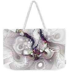A Leap Of Faith - Fractal Art Weekender Tote Bag by NirvanaBlues