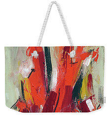 A Leap Of Faith Weekender Tote Bag by Lynne Taetzsch