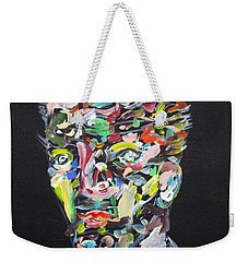 Weekender Tote Bag featuring the painting A Life Full Of Oppurtunities by Fabrizio Cassetta