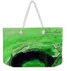 A Lifeless Planet Green Weekender Tote Bag