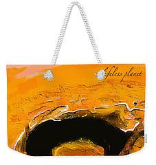 A Lifeless Planet Orange Weekender Tote Bag