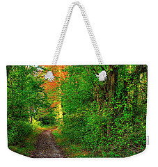 A Light In The Forest - Fair Hill Nature Center At Foxcatcher Farms - Cecil County, Md Weekender Tote Bag