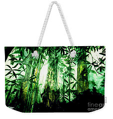 A Light In The Forest Weekender Tote Bag by Seth Weaver