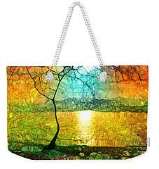 A Light Like Love Weekender Tote Bag