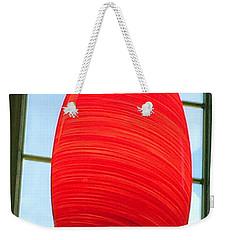A Light On In Trhe Window Weekender Tote Bag
