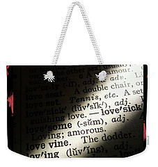 A Light On Love Weekender Tote Bag