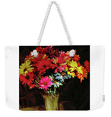 A Light Shines Into The Darkness Of My Soul Weekender Tote Bag