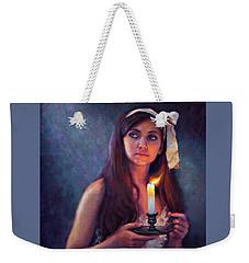 A Light Unto My Path Weekender Tote Bag