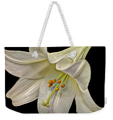 A Lily For Easter Weekender Tote Bag