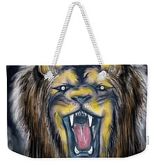 A Lion's Royalty Weekender Tote Bag