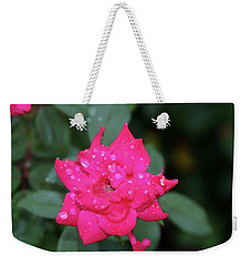 Weekender Tote Bag featuring the photograph A Lite Drizzel by John Glass