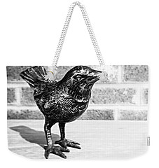 A Little Bird Weekender Tote Bag by Joseph Skompski