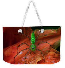 A Little Creepy Crawler Weekender Tote Bag