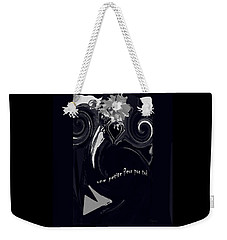 A Little Flower For You Weekender Tote Bag