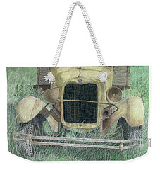 A Little Loopy Colorized Weekender Tote Bag