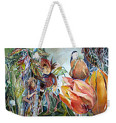A Little Magic Weekender Tote Bag by Mindy Newman