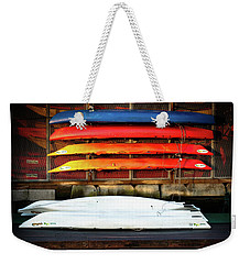 A Little Reflection Before The Adventure Weekender Tote Bag