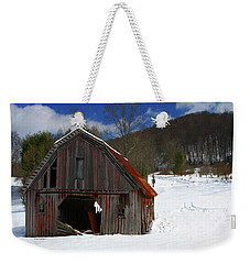 A Little Rust Weekender Tote Bag by Dale R Carlson