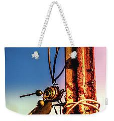 A Little Rusty Weekender Tote Bag by Stefanie Silva