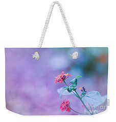 A Little Softness, A Little Color - Macro Flowers Weekender Tote Bag