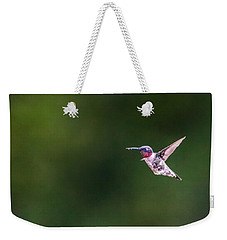 Weekender Tote Bag featuring the photograph A Little Something On The Chin by Steven Santamour
