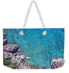 A Little Square Of Paradise  Weekender Tote Bag