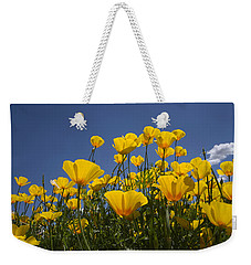 A Little Sunshine  Weekender Tote Bag by Lucinda Walter