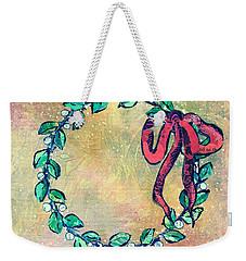 A Little Wreath Weekender Tote Bag