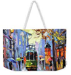 A Lonley Tram  Weekender Tote Bag