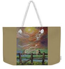 A Lovers Moon Weekender Tote Bag