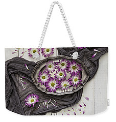 Weekender Tote Bag featuring the photograph A Magical Moment by Kim Hojnacki