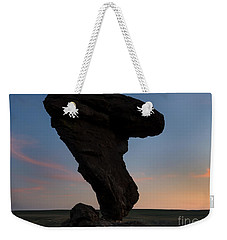 A Matter Of Balance Weekender Tote Bag