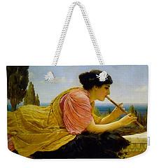 A Melody  Weekender Tote Bag by John William Godward
