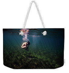 A Mermaid In A Sea Of Coral Weekender Tote Bag