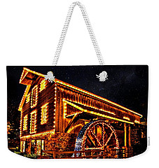 A Mill In Lights Weekender Tote Bag