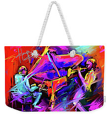 A Million Colors On You Mind Weekender Tote Bag