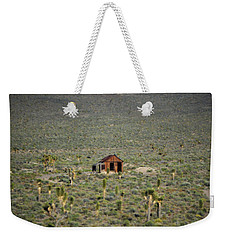 A Miner's Shack Weekender Tote Bag by Nature Macabre Photography