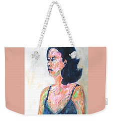 A Modern Madame Bovary Weekender Tote Bag by Esther Newman-Cohen