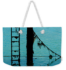 Weekender Tote Bag featuring the photograph A Modicum Of Maritime Minimalism by Chris Lord