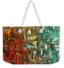A Moment In Time - Abstract Art Weekender Tote Bag