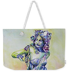 A Moment In Time Weekender Tote Bag by Mary Haley-Rocks