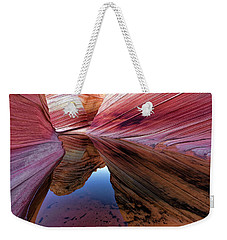 A Moment To Reflect Weekender Tote Bag by Jonathan Davison