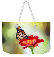 A Monarch Moment Weekender Tote Bag