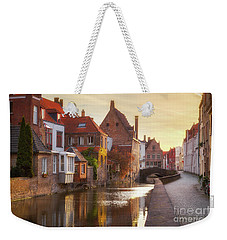 A Morning In Brugge Weekender Tote Bag by JR Photography